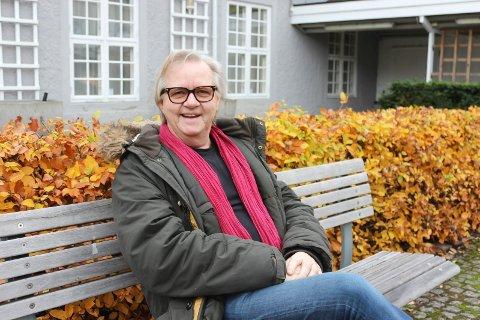 TRE DAGER I KLOSTER: Dosent Runar Bakken ved USN forbereder seg på tre dager i Løgum Kloster i Danmark. 845 år etter at klosteret ble grunnlagt skal Bakken undervise danske prester der.