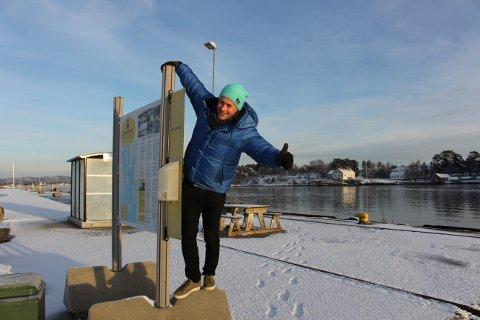 Kjetil Østlie i Visit Telemark har stor tro på at det skal  være mulig å få til en ny fergerute mellom Kragerø - Jomfruland og Langesund, med forbindelse til Helgeroafergene i Langesund, og med sommerruta til og fra Brevik. Knutepunktet blir Smietangen i Langesund.