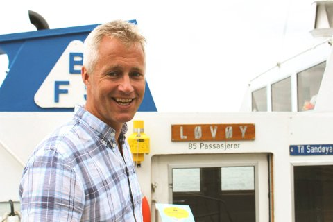 Kjetil Østlie sier at Visit Telemark har en drøm og en visjon om å få til en fergeforbindelse fra Brevik, Langesund og Helgeroa til Kragerø og til nasjonalparken på Jomfruland og Stråholmen.
