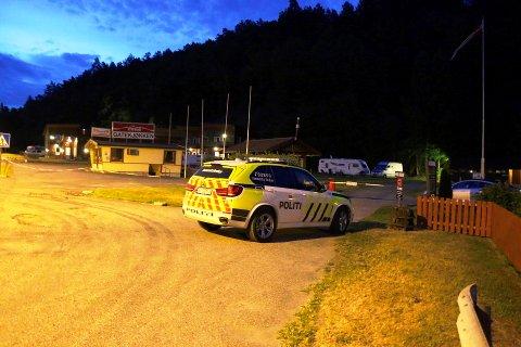 Politiet rykket ut da det ble meldt om slåsskamp mellom to gutter på Olavsberget i natt.