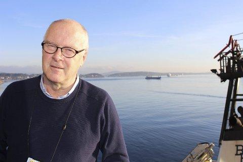 Havnedirektør Finn Flogstad er fornøyd med årsresultat til Grenland Havn.