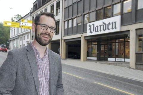 LESERBREV: Varden-redaktør Tom Erik Thorsen.