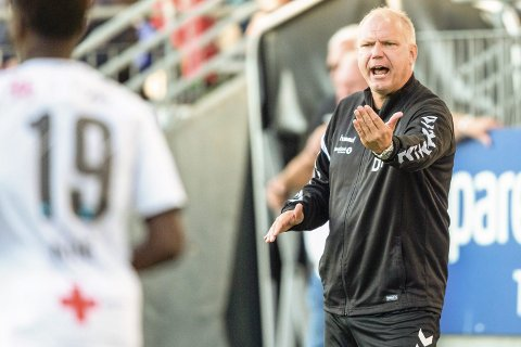 Debatt: Odd-trener Dag-Eilev Fagermo er overhodet ikke bekymret for fotballen i Telemark og avviser bekymringene fra Pors-trener Tommy Svindal Larsen.