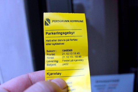 TIDA UTE: P-ordningen i Porsgrunn må avskaffes.