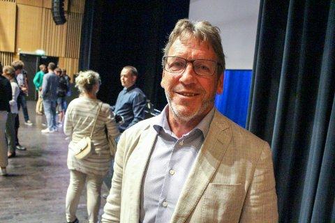 Magne Ramlo er prosjektdirektør i Nye Veier for E18 Langangen-Grimstad.