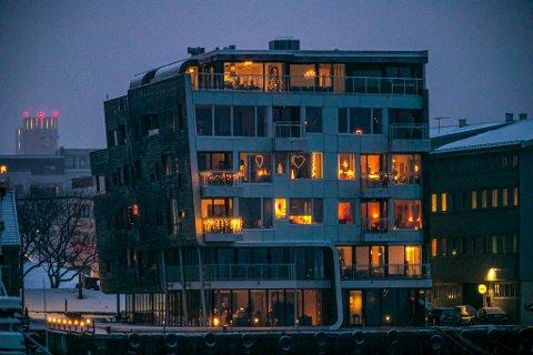 LUKSUSLEILIGHET: Stridens kjerne er toppleilgheten i Søndre Tollbodgate 15.