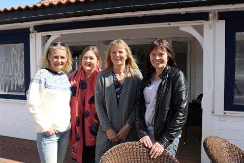 PLANER: Lene Elvig Sjøstrøm, Merete Nystrand, Inger Ann Hafsund og Unni Hafsund.
