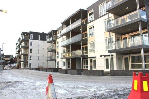 Beboerne i de nye leilighetene på Heistad Brygge klager på støy fra ei varmepumpe.