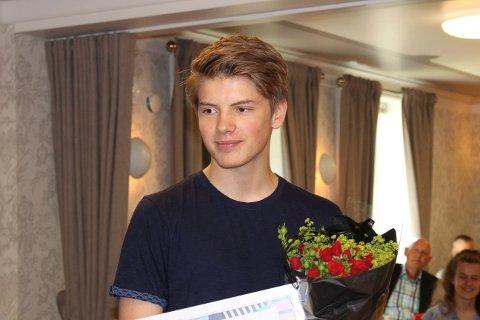 STIPEND: Kristian Garstad Eriksen fikk Drømmestipendet.