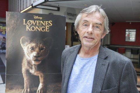 HELT TOPP: – 2019 må være tiårets barnefilmår. Jeg kan ikke huske å ha så mange store filmer på rekke og rad. Spesielt Frost, og Løvenes Konge som går nå, har jeg hatt store forventninger til, sier kinosjef Tom Andersen.