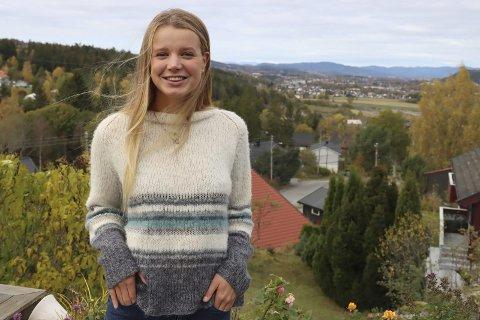 HJEMME I GRØNNE PORSGRUNN: Thyra Stavrum Tång (25) er hjemme på Eidanger og gleder seg til veldig til å spille fotball for Stathelle neste sesong.