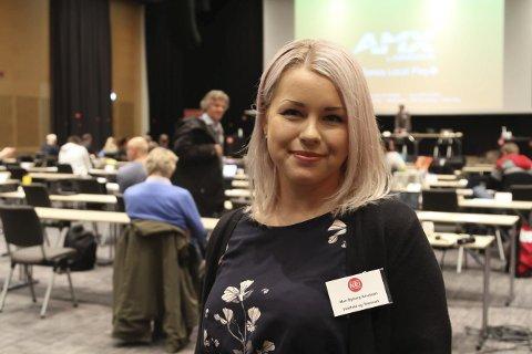 OPPOVER: Mari Byberg Knudtsøn.