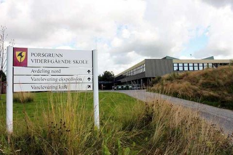 En elev ved Porsgrunn videregående er bekreftet smittet. Hele klassen er i karantene.