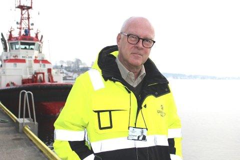 DIREKTØR: Havnedirektør Flogstad har krav til avkastning.