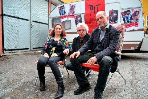 Anette Röde Hagnell, Trond Hannemyr og Hans Petter Eliassen er sentrale i planleggingen og gjennomføringen av PIT.