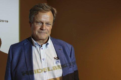 KOMMENTERER: Direktør Per Brevik i HeidelbergCement.
