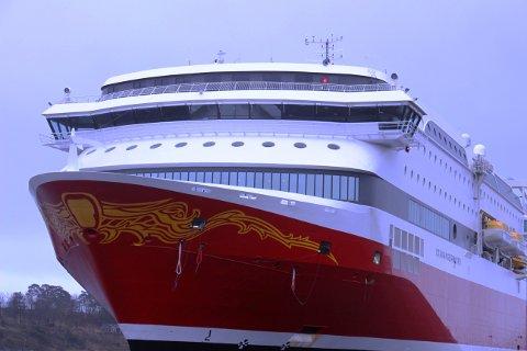 «MS Stavangerfjord» ankom søndag for siste gang de neste 30 dagene. Nå settes Stavangerfjord inn i den ekstraordinære ruten Kristiansand-Hirtshals som Fjord Line har opprettet i disse koronatider.