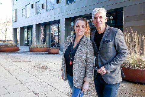 PÅ SAMME LAG: Kristine Palmgren overtar direktørrollen på Kammerherreløkka. – Men jeg blir værende. Vi er ett team, og skal fortsette å utvikle oss sammen, smiler Teo K. Luisa.