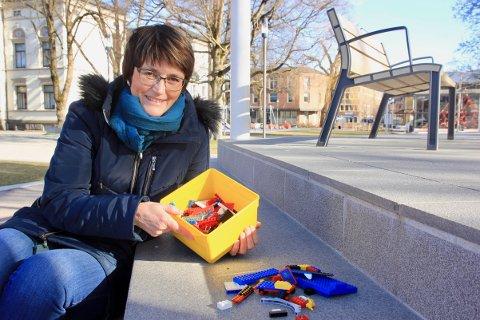 LEGO: Kirken ved menighetspedagog Wenche Thorsen Wiig inviterer til påskeaktiviteter i heimen.