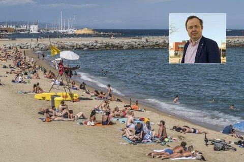 KÅSS (IKKE) I SPANIA: – For min del var det ikke en vurdering å dra til Spania eller utenlands i sommer, men jeg har forståelse for de som drar.