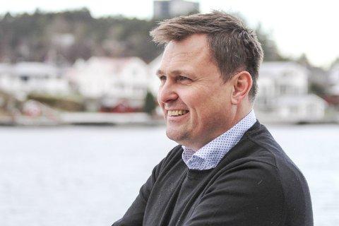 PENGER PÅ KONTOEN: Urædd-leder Sigurd Juvik kunne konstatere at de har fått inn 910.000 kroner på kontoen fra Krisepakke 2 for frivilligheten. Det gjør at klubben har hodet over vannet.