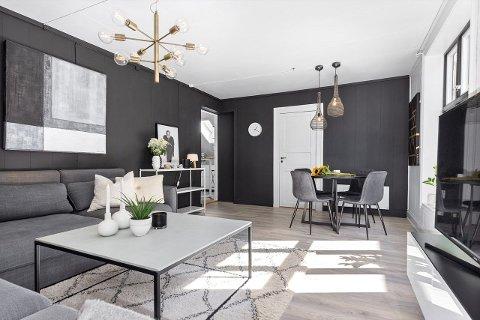 9500: Denne leiligheten i sentrum koster 9500 kroner i måneden.