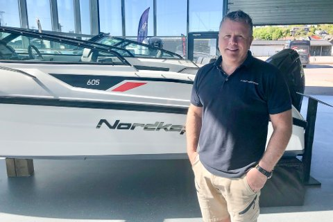 POPULÆRT: – Båtene går unna som aldri før, smiler Triex-sjef Thomas Aasland.