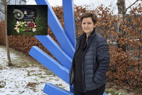 FIKK GJEV PRIS: Da Mette Lilleberg mistet datteren Ine i selvmord for fire år siden (innfelt), ble engasjementet for idretten og Stathelle og omegn idrettslag enda større. Lørdag fikk hun fotballforbundets honorære lederpris som kvinnelig leder for innsatsen i idrettslaget.