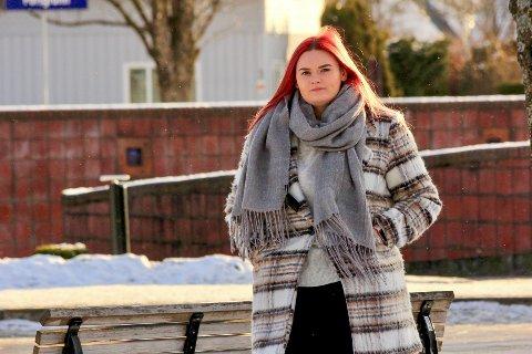 IRRITERT: Sunniva Nygård (22) føler at studentenes behov ikke ble ivaretatt i forbindelse med en eksamensgjennomføring før jul.