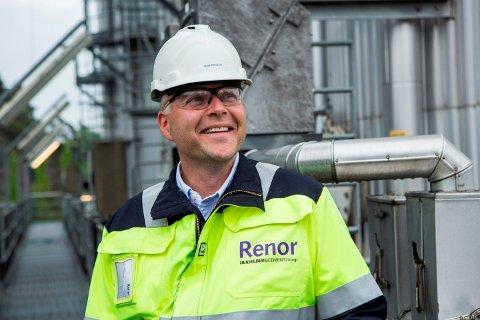 – I Renor har vi jobbet med sirkulær økonomi i 20 år, og dette er kjernen i vår forretningsmodell, sier administrerende direktør Jarle Haugedal i Renor i Brevik.