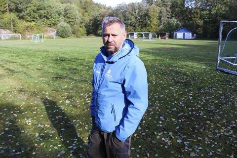 KOMMER MED BØNN: Kommunens SLT-koordinator, Kjetil Haugersveen, er godt kjent med utfordringene vedrørende fester på Olavsberget. Han kommer med bønn til foreldre om at de følger med på hvor barna drar og hva de foretar seg på kveldene.