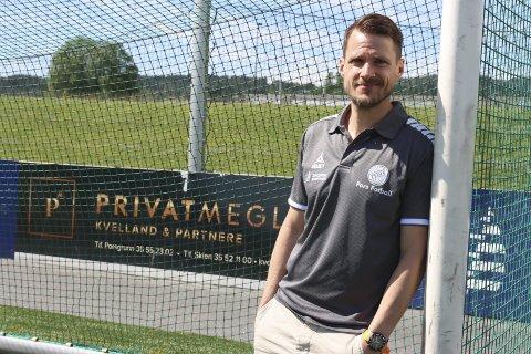 NY ROLLE: Martin Fremstad går inn som keeperansvarlig for ungdomsavdelingen i Pors. Han gleder seg stort til å være en del av satsinga i vestsidaklubben.