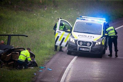 OMKOM: 46 år gamle John Christian Solberg fra Kløfta omkom i ulykken.