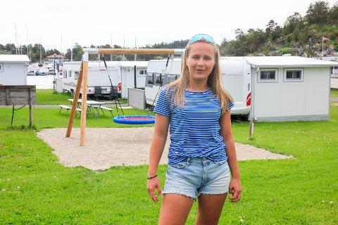 OPPGRADERINGER: – Vi har gjort mye siden vi overtok og har stadige oppgraderinger i tankene, sier Elisabeth Wærstad Brevig (23) ved Brevigstrand camping.