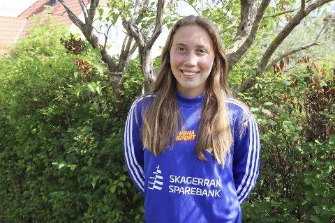 STORTRIVES: Ida Garstad Eriksen er en av mange stortalenter i jentefotballen på Stathelle. Hun vil være en del av stammen på damelaget i 2. divisjon denne sesongen.