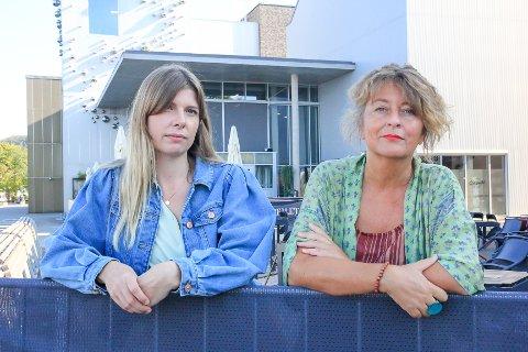 KRITISKE: Kine Andersen og Astrid Borchgrevink-Lund er kritiske til måten Facebook opererer på. – Det henger ikke på greip.