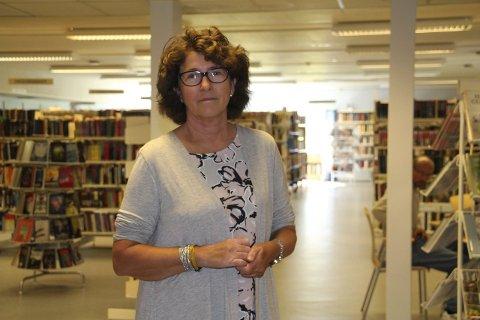 Må kutte, men liker det ikke: Kultursjefen i Rakkestad kommune, Grethe Torstensen, sier det er flere områder innenfor kultur som lider mer enn biblioteket.