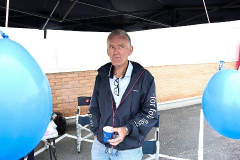 MISNØYE: Leder for Rakkestad Frp, Hans Jørgen Fagereng, forteller at mange medlemmer har ergret seg over at partiets kjernesaker over tid ikke har fått nok gjennomslag i regjering.