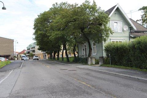Villa Sundby fra gateplan