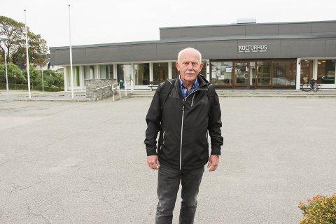 Seniorer: Leder i eldrerådet Arild Oliversen håper mange kommer på eldredagen på kulturhuset på fredag.