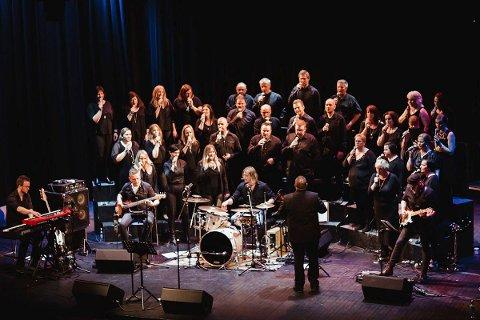 Kommer: Gospelkoret Joyful kommer til Rakkestad kirke.