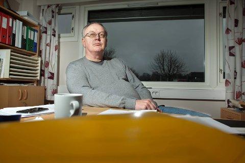 - relativt fornøyd: Rådmann Alf Thode Skog sier han er relativt fornøyd med overskuddet og driftsreserven kommunen nå har opparbeidet seg. Han advarer likevel mot tøffe tak. Arkivfoto