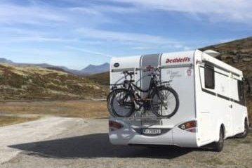 Frihet: Bobil og campingvogn gir en frihet til å reise hvor og når man vil. Alle foto: Elisabeth Bjørnstad