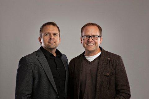 NOMINERT TIL EMMY: Brødrene Gjermund og Vegard Stenberg Eriksen står bak den kritikerroste spenningsserien Mammon. Nå er andre sesong nominert i kategorien beste internasjonale dramaserie.
