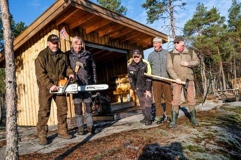 Egil Solbrekke, Torgeir Steen, Atle Morset, Dag Gjulem, Per Vidar Pedersen.