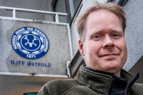 Fylkessekretær i NJFF Østfold Ole-Håkon Heier søker frivillige til å delta i sporing av gaupe.