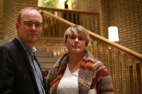 Ulvemotstand: Ole Andre Myhrvold og Karoline Fjeldstad