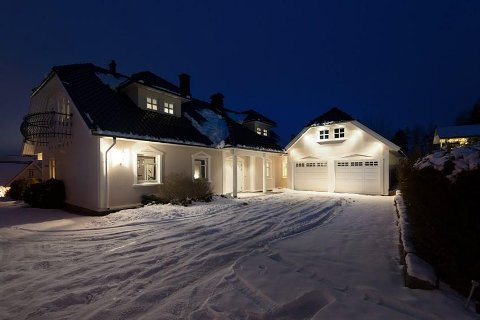 SOLGT: Eiendommen i Ravineveien 23 ble solgt for 4,9 millioner kroner før visning.