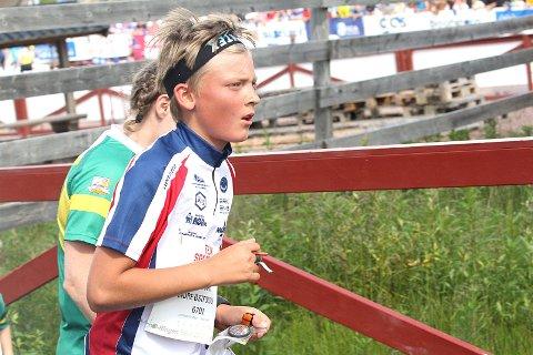 TREER: Peder Aabogen Haugaard sikret seg bronsemedalje i sprint-KM i orientering.