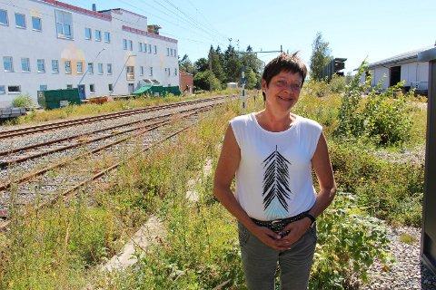 Politisk påvirkning: Ellen Solbrække (Ap) synes det er veldig bra at fylkestinget vil sende en formell henvendelse til NSB og Jernbanedirektoratet om at det må gjenåpnes for persontrafikk mellom Mysen og Sarpsborg.